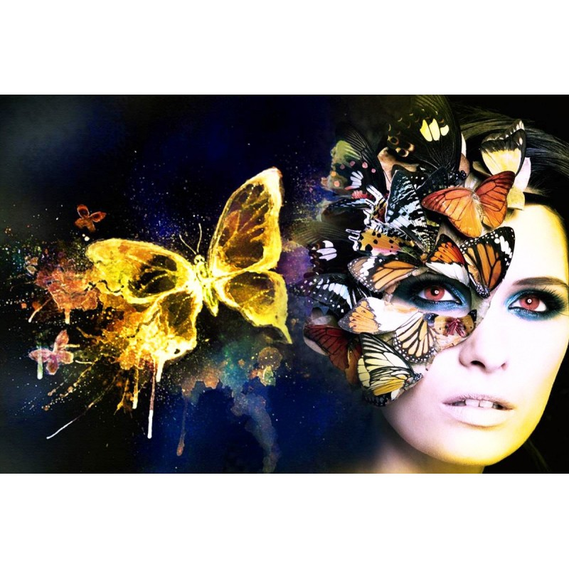 Butterflies and Lady...