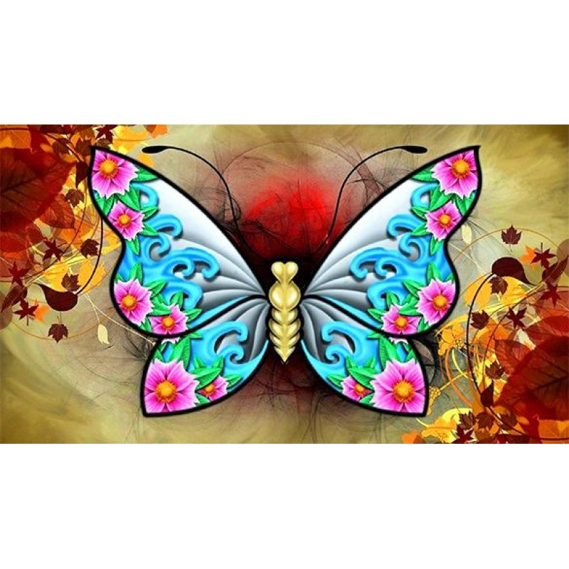 Colorful Butterfly 5...