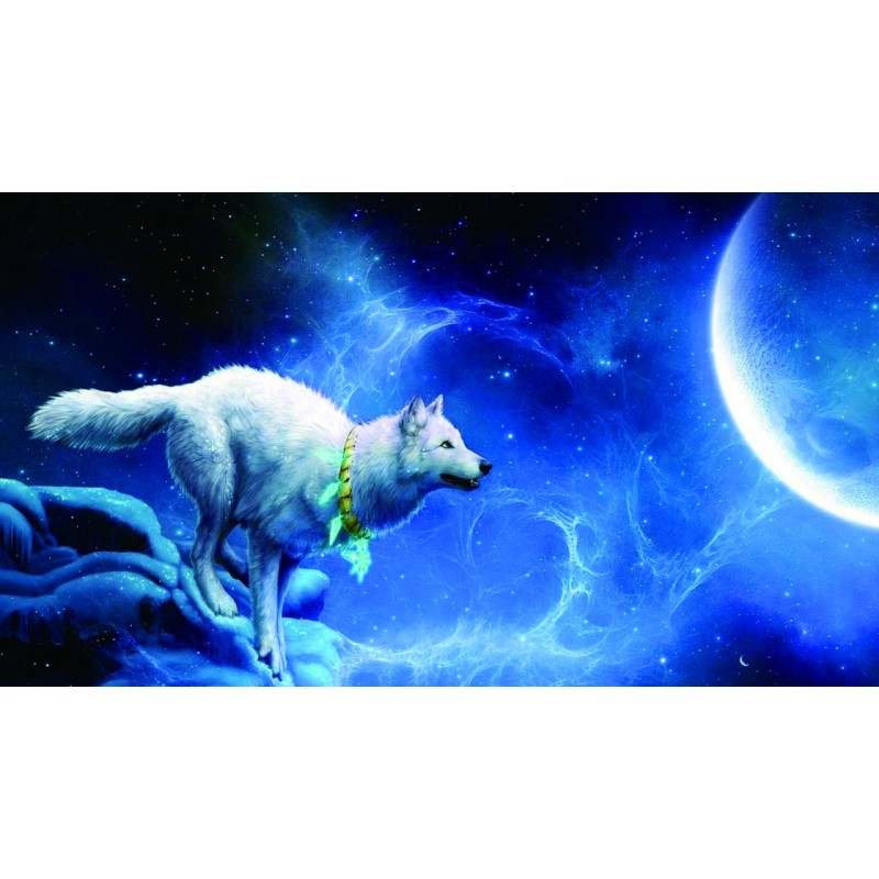 Wolf and Moon 5D DIY...
