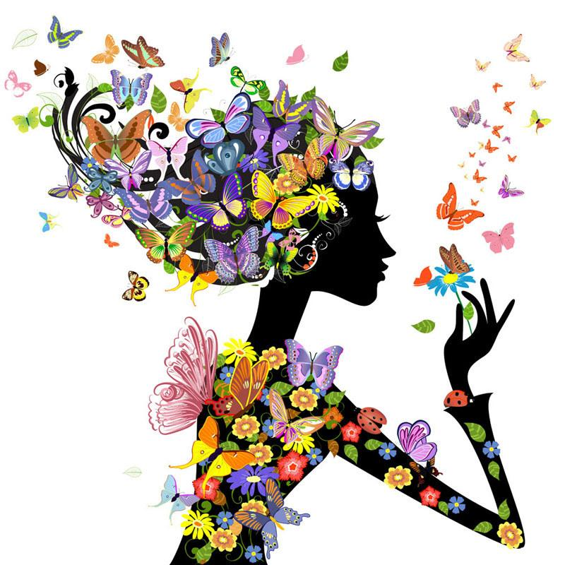 Beauty And Butterfly...
