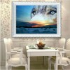 Landscape Wolves 5D Diy Diamond Painting Kits UK