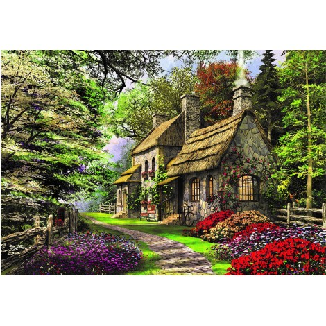 House In Forest 5D DIY Diamond Painting