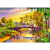 Landscape Village 5D DIY Diamond Painting Kits UK
